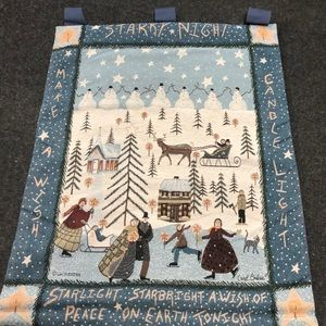 Christmas Tapestry wall hanging